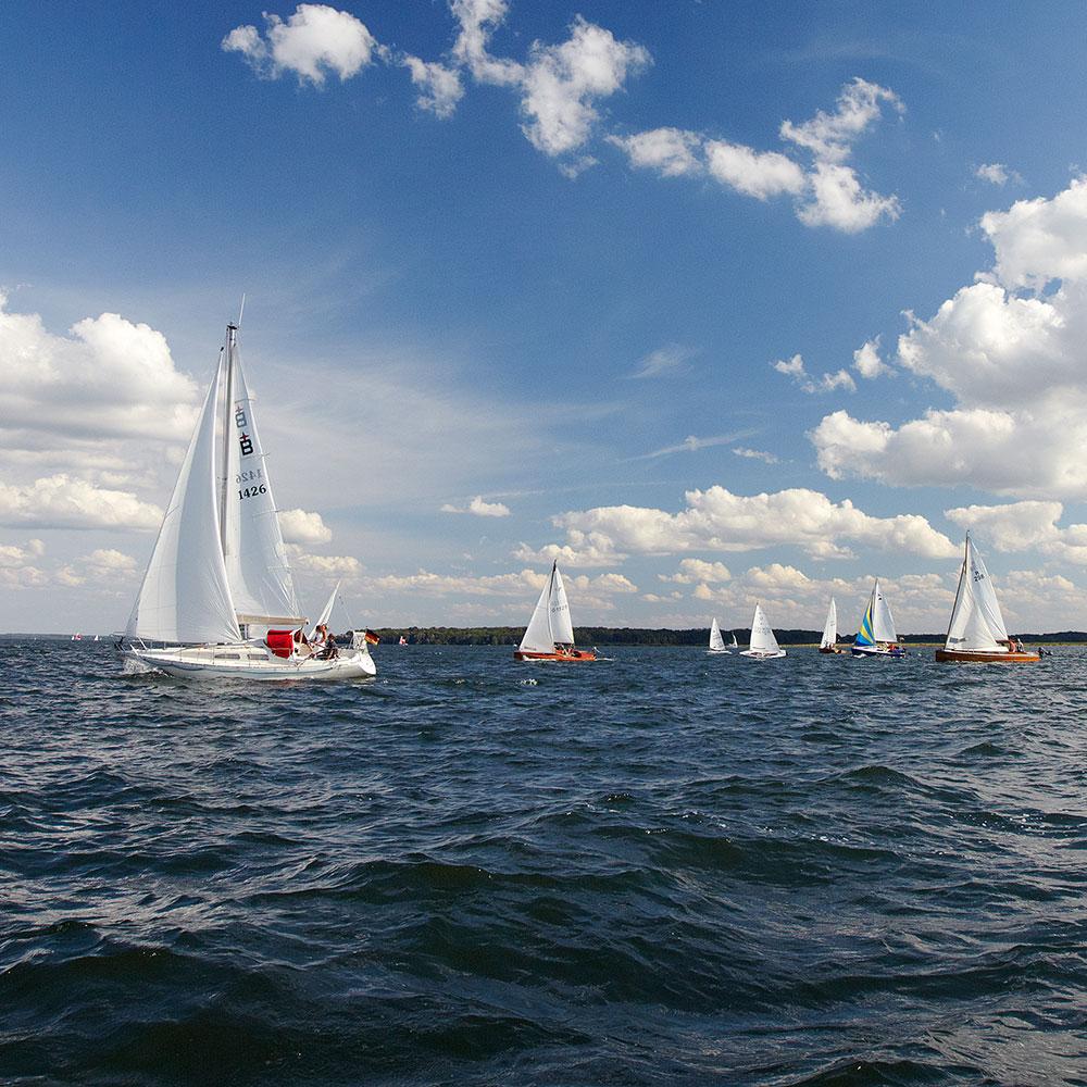 Sailing paradise, Müritz